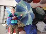 Pista bácsi esernyőkiállítása